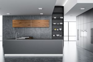 modern minimalist kitchen countertops