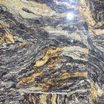 Blue Fire Granite slab