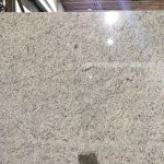Ornamental White Granite slab