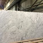 Silver Cloud Granite slab