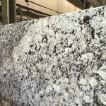 Supreme White Granite slab