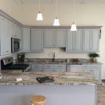 showroom kitchen granite countertop design
