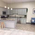 showroom granite countertop